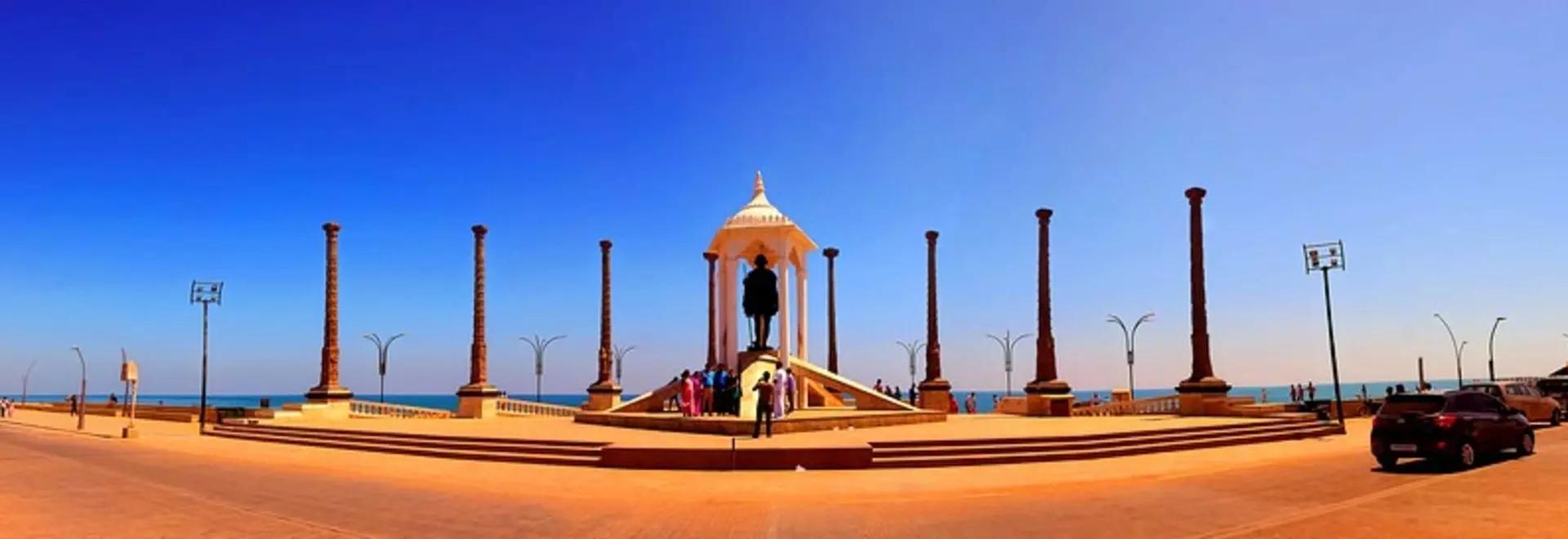 Gandhi Statues Pondicherry Puducherry Kokula Krishna Hari K