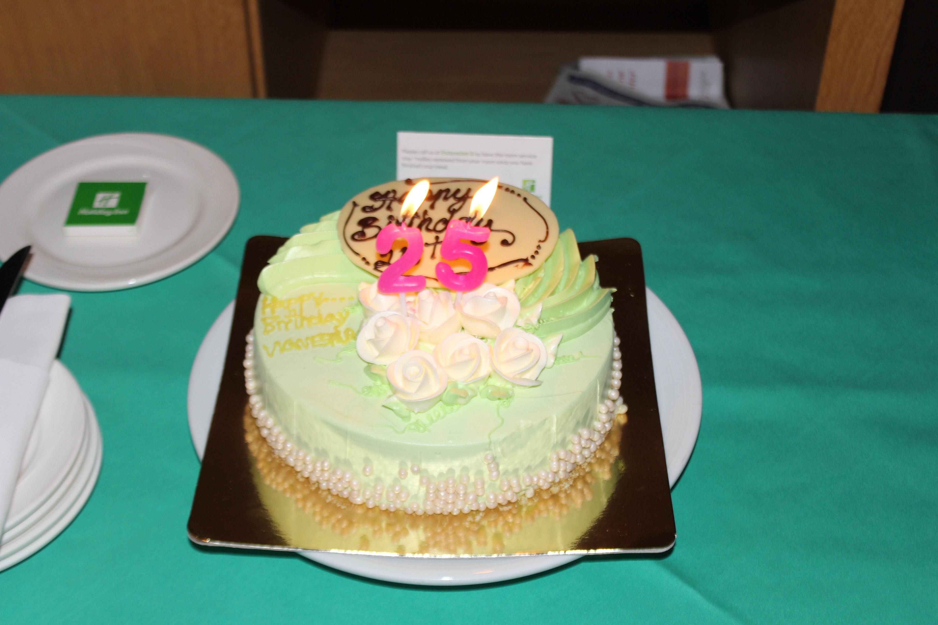 Birthday Cake Bangkok Kokula Krishna Hari KK